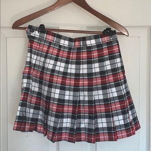 🍎📝 American Apparel Plaid School Skirt 📝🍎